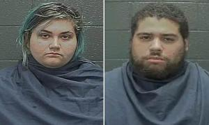 Sage Wright, 22,and her partner, Christian Bishop-Torrence, 24,TX Friday, June 18 and charged with the death of their one-year-old daughter.