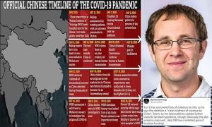 Professor Jesse Bloom found dozens of test samples from the earliest confirmed Covid patients in epicentre Wuhan had been pulled by Chinese scientists from an international database,