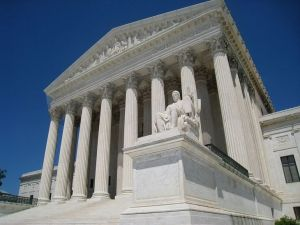 The U.S. Supreme Court building, Wikimedia Commons, Daderot.