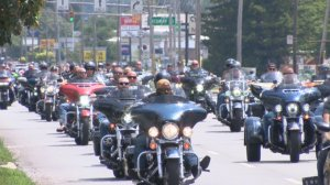 The community came together on Sunday to raise money for the family of fallen Toledo Police Officer Brandon Stalker.
