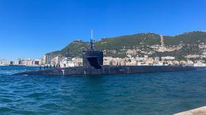 Ohio class ballistic missile submarine USS Alaska,