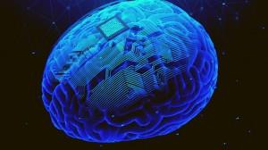 A 3D rendering of a brain implant.laremenko / iStock