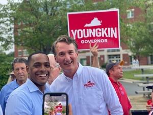 Glenn Youngkin in Loudoun County, Virginia, June 30, 2021. (Breitbart News)