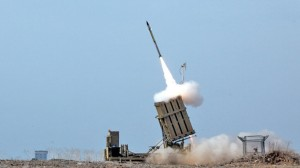 A missile from the Israeli Iron Dome, launched during the Operation Pillar of DefenseIsrael Defense Forces/Flickr
