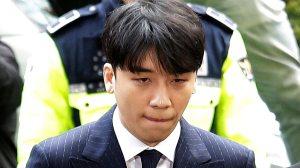 Seungri, a former member of a popular K-pop boy band Big Bang, arrives at the Seoul Metropolitan Police Agency in Seoul, South Korea, in March 2019. (AP)