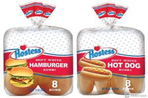"""Hostess has issued a nationwide recall for its """"soft white"""" hamburger and hot dog buns over possible listeria and salmonella contamination. Photo credit FDA"""