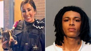 Officer Ella French, left, and Eric Morgan. (Facebook/AP)