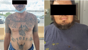 Two MS13 gang members, one previously convicted for murder, have been added to the more than 1,700 criminal migrants arrested by #BorderPatrol agents this fiscal year.