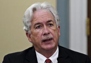 CIA Director William J. Burns (Al Drago/AFP/Getty Images)
