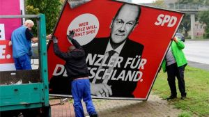 REUTERS The election banners are being packed away, but a lot of work lies ahead to form Germany's new government