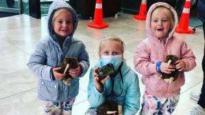 Graham and Lauren Dickason and their three children Liane, 6, and twins Maya, and Karla, 2, moved to New Zealand from South Africa in late August. On Thursday the children were found dead at a home in Timaru.