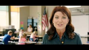 Photo: Screenshot from Rebecca Kleefisch campaign video