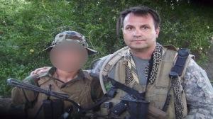 Lt. Col. Scott Mann (Ret.) with Nesam (Courtesy: Task Force Pineapple)