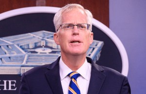 Former Acting Defense Secretary Christopher C. Miller. (DoD Photo by U.S. Air Force Staff Sgt. Jack Sanders)