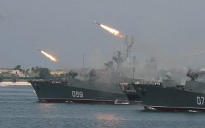 Russia and China Hold Joint Naval Drills in Sea of Japan
