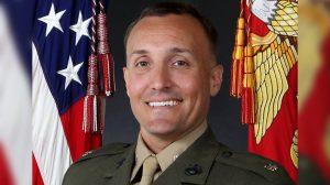 Lt. Col. Stuart Scheller in a file photograph. (US Marine Corps)
